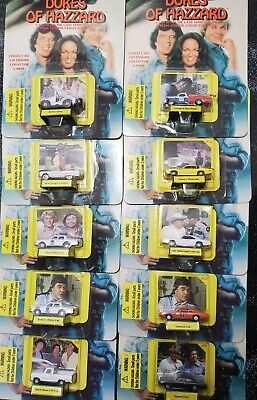 1998 DUKES OF HAZZARD COMPLETE SET OF 10 -  1/144  SCALE - FREE SHIP