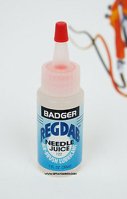Badger REGDAB needle juice lubricant for airbrush maintenance air-brush (Badger Needles)