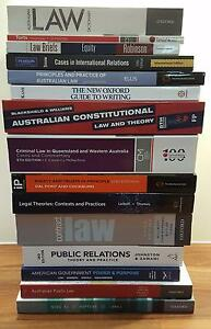 Law, Politics and IR, Journalism Textbooks for Sale Helensvale Gold Coast North Preview