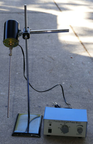 Electric Adjustable Speed Lab Mixer with shaft !!!