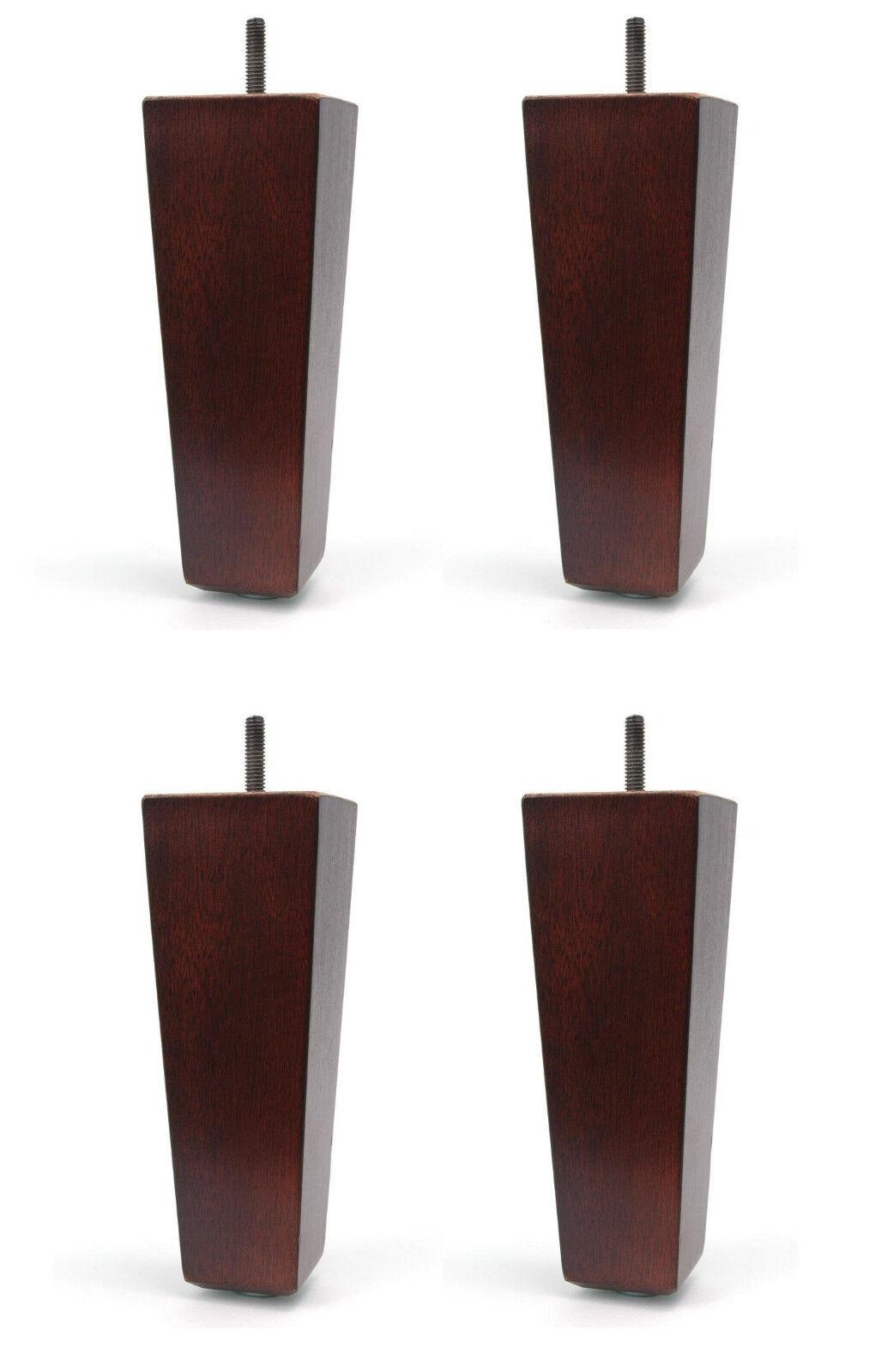 2-1/4″ Black Plastic Round Sofa Furniture Legs – Set of 4 Furniture