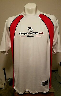 Dale Earnhardt Jr Chase Authentic Trackside Apparel #8 Budweiser Jersey Men's L Dale Earnhardt Jr Apparel