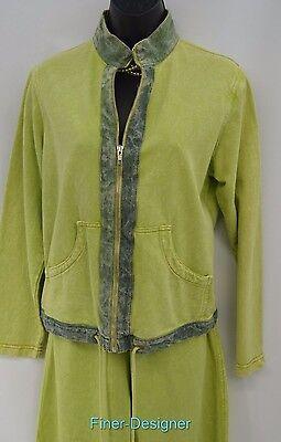 Produce co. capri crop pant Suit Fresh jacket track shabby loungewear SIZE S NEW