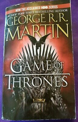 A GAME OF THRONES (A Song of Ice and Fire Book 1) by George R.R. Martin Ppbk