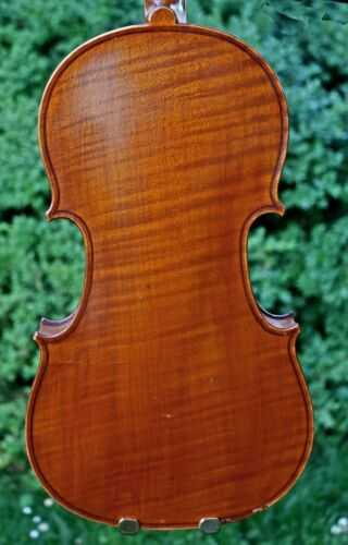 4/4 The ELEGANT OLD FRENCH VIOLIN after GUARNERI, LISTEN to the VIDEO!