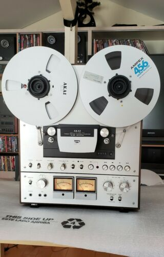 AKAI GX-650D Reel-to-Reel Tape Deck, Near-perfect condition, Recently serviced