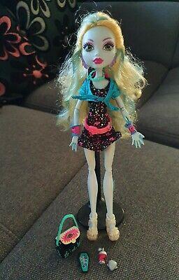 Monster High Puppe - Mattel - Nachtschwärmer - Monster High Lagoona