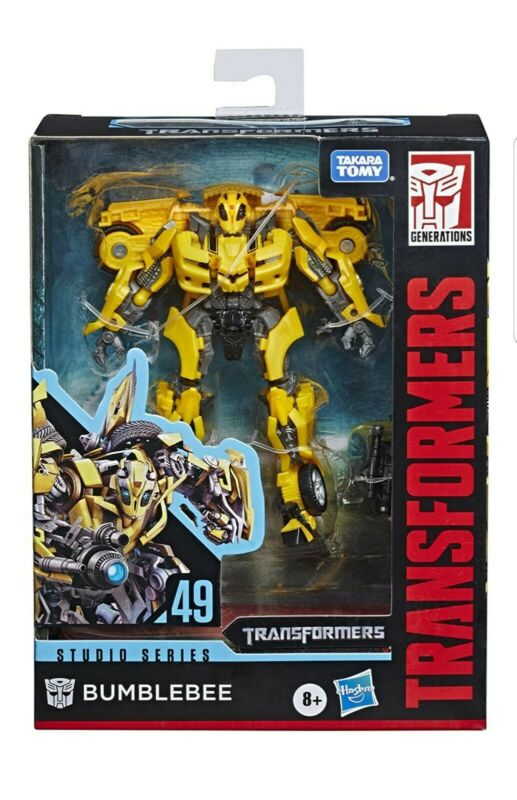 Transformers Bumblebee Studio Series 49 Deluxe Class Action Figure Toy Sale New