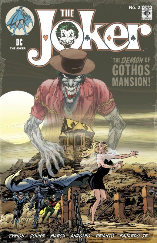Joker #2  NEAL ADAMS VAR Batman #227 Homage NM April 2021 1ST BANES DAUGHTER