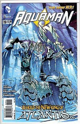 DC Comics New 52 AQUAMAN #19 1st FIRST APPEARANCE OF KING NEREUS