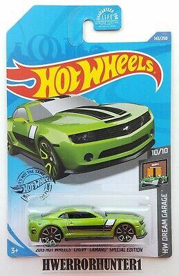 2020 Hot Wheels Treasure Hunt 2013 Chevy Camaro Special Edition Dream Garage