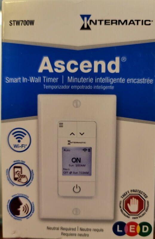Ascend SmartNext Generation 7-Day Programmable WiFi Timer, White