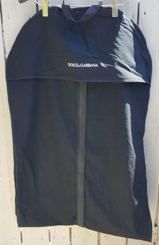 "NEW Dolce & Gabbana X-Large Cotton Cloth Garment Bag ~ 76"" x 25.5"" x 3"""