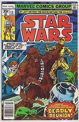 Star Wars #13, Near Mint Minus Condition'