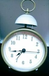 Ikea Single Bell Battery Operated Desk or Nightstand Alarm Clock