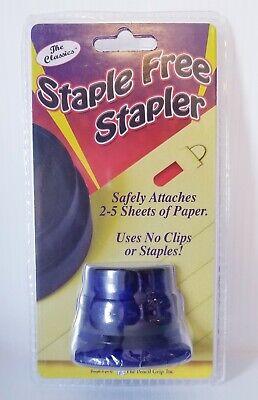 The Pencil Grip The Classics Staple Free Stapler No Clips Or Staples 2-5 Pgs