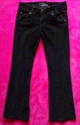 Hudson Designer Jeans Womens Corduroy Pants Signature Bootcut Flare Size 28