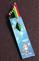 6 Lápices De Color Sochi 2014. 6 Color Pecnils Sochi 2014 Olympic Games -  - ebay.es