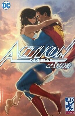 Action Comics #1000 Third Eye Comics Variant by Kaare Andrews