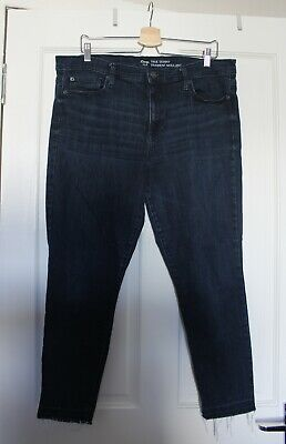 Gap Ladies True Skinny Denim Jeans Size 20 Dark Wash