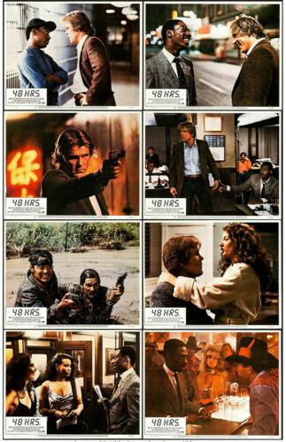 48 HRS  (1982) Original Theatrical Lobby Cards