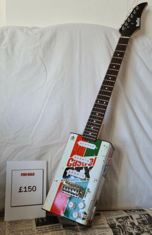 Oil Can Guitar Castrol GTX