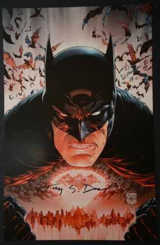 Batman Print Signed by Tony Daniel