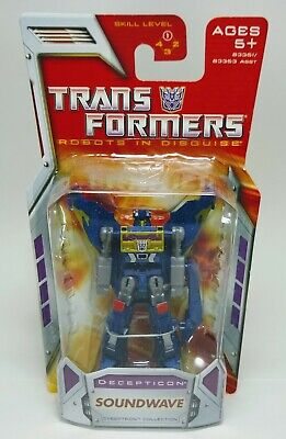 Transformers Classics SOUNDWAVE Cybertron Legends Class Robots in Disguise 2007