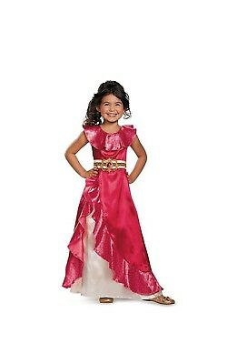 NEW ELENA OF AVALOR RED DRESS HALLOWEEN COSTUME SIZE 4 5 6 SMALL