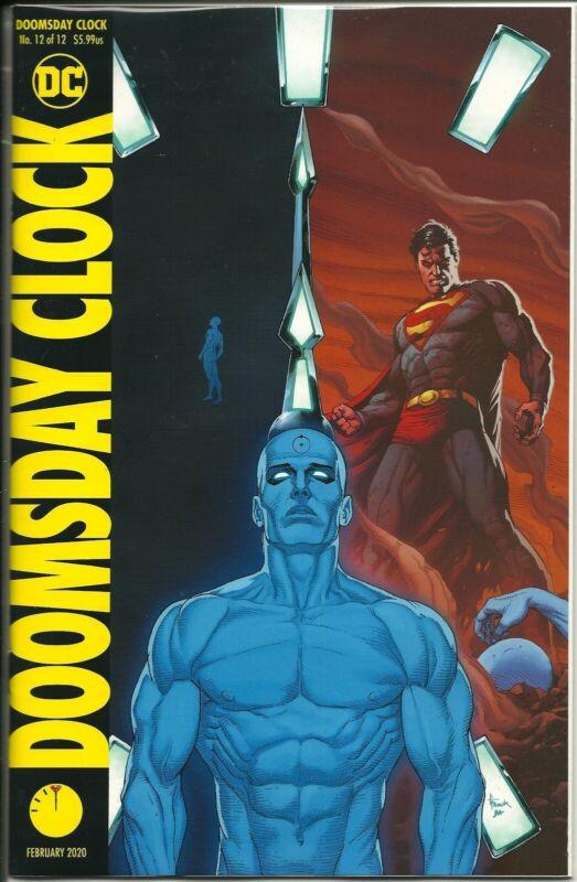 Doomsday Clock 12 Gary Frank Variant Cover Nm Ebay