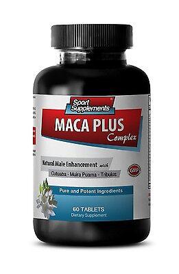 Organic Maca Root Powder - Maca Plus Complex 1275mg - Aging Male Sexuality 1B