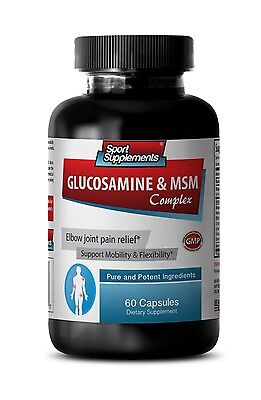 Cartilage Mobility - Glucosamine & MSM Complex 3232mg - Chondroitin Powder 1B Glucosamine Chondroitin Powder