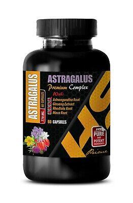 brain naturals - ASTRAGALUS COMPLEX - holy basil leaf capsules 1