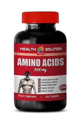 best pre workout for muscle growth - AMINO ACIDS 1000 mg -amino acids (Best Pre Workout Supplement For Weight Lifting)