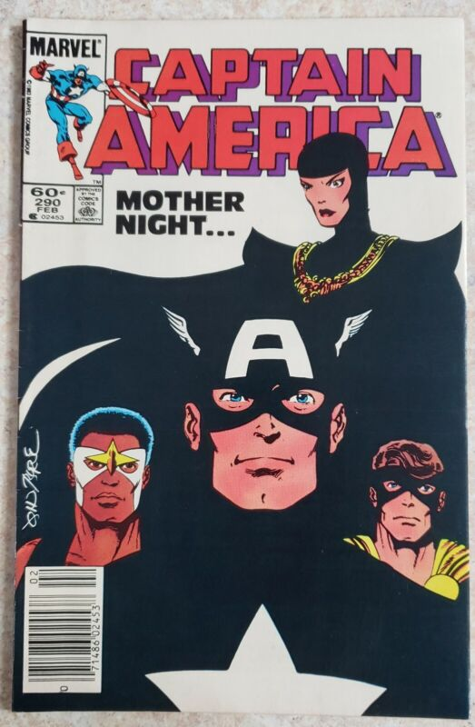 Captain America #290 1st Of Mother Superior/Sin