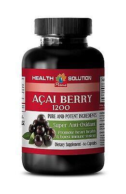 Brain Supplement - Acai Berry Extract 1200mg - Acai Berry Cleanse 1B Acai Cleanse Acai Berry