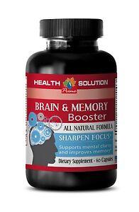 Brain Herb Caps - Brain & Memory Complex 777mg - Phosphatidylserine Powder 1B