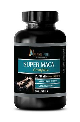 best male enhancment pills - SUPER MACA COMPLEX 2070mg - male fertility - 1