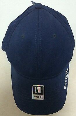 Tactel Flex-cap (Reebok Hockey Tactel Full Flex Cap Hat / Adult All Sizes / Navy or Black)
