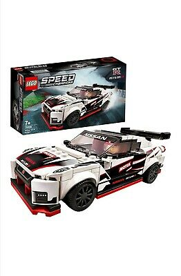 LEGO 76896 Speed Champions Nissan GT-R NISMO Racer Toy with Racing Driver