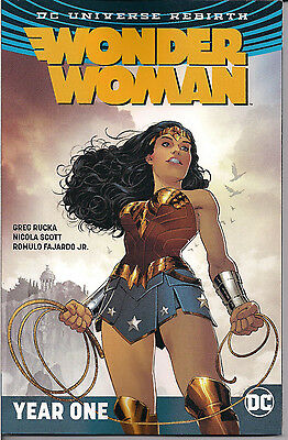 DC Universe Rebirth - Wonder Woman Vol. 2 Year One - Softcover (Wonder Woman Vol 2 Year One Rebirth)