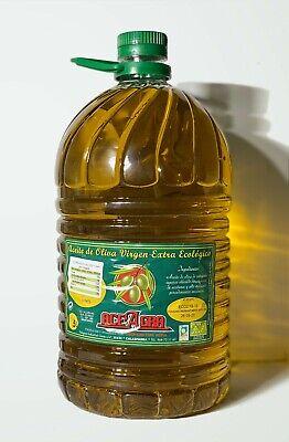 Aceite Oliva Virgen Extra Ecológico. Garrafa de 5 litros.