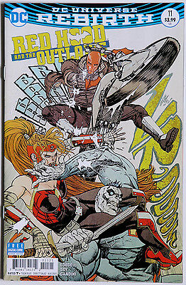 Red Hood and the Outlaws #11 Variant Cover Rebirth Vol 2 DC Comics S Lobdell