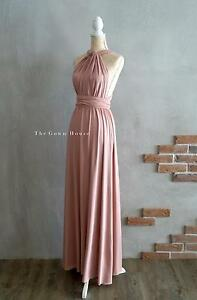 BRIDESMAID FORMAL CONVERTIBLE DRESS BRAND NEW 20+ COLOURS Brisbane City Brisbane North West Preview