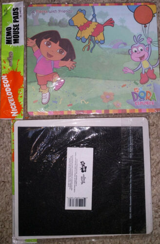 Sealed New from 2004 DORA THE EXPLORER Memo MOUSE PAD