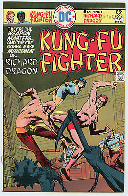 Kung Fu Fighter  3 Vf Denny Oneil  Jack Kirby  D  Bruce Berry Sept  1975 Dc Com