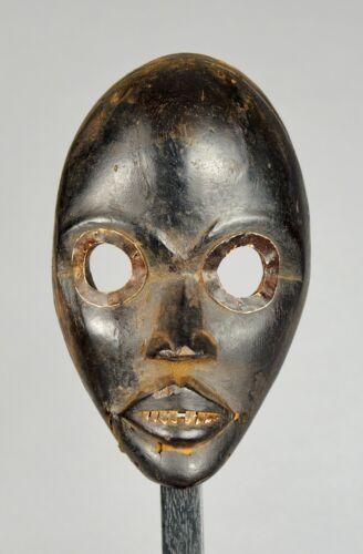 Beautiful DAN Racer Mask Gunye Ge Ivory Coast African Tribal Art Provenance 1404