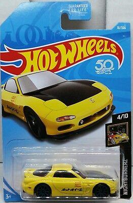 Hot Wheels 1995 Mazda RX-7 2017 Night Burnerz (118)