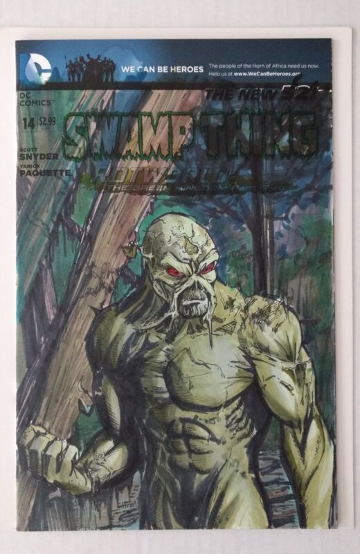 Swamp Thing #14 (Original Sketch by Chris Ehnot)