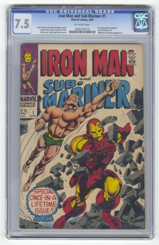 Iron Man and Sub-Mariner #1 CGC 7.5
